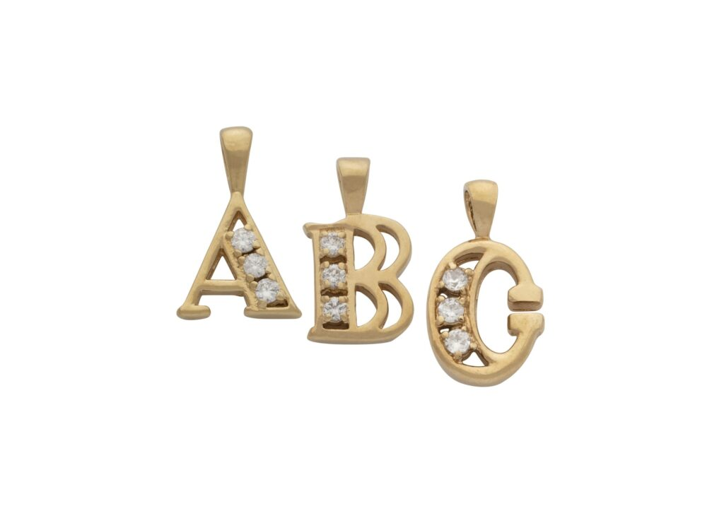 Letter & Number Charms