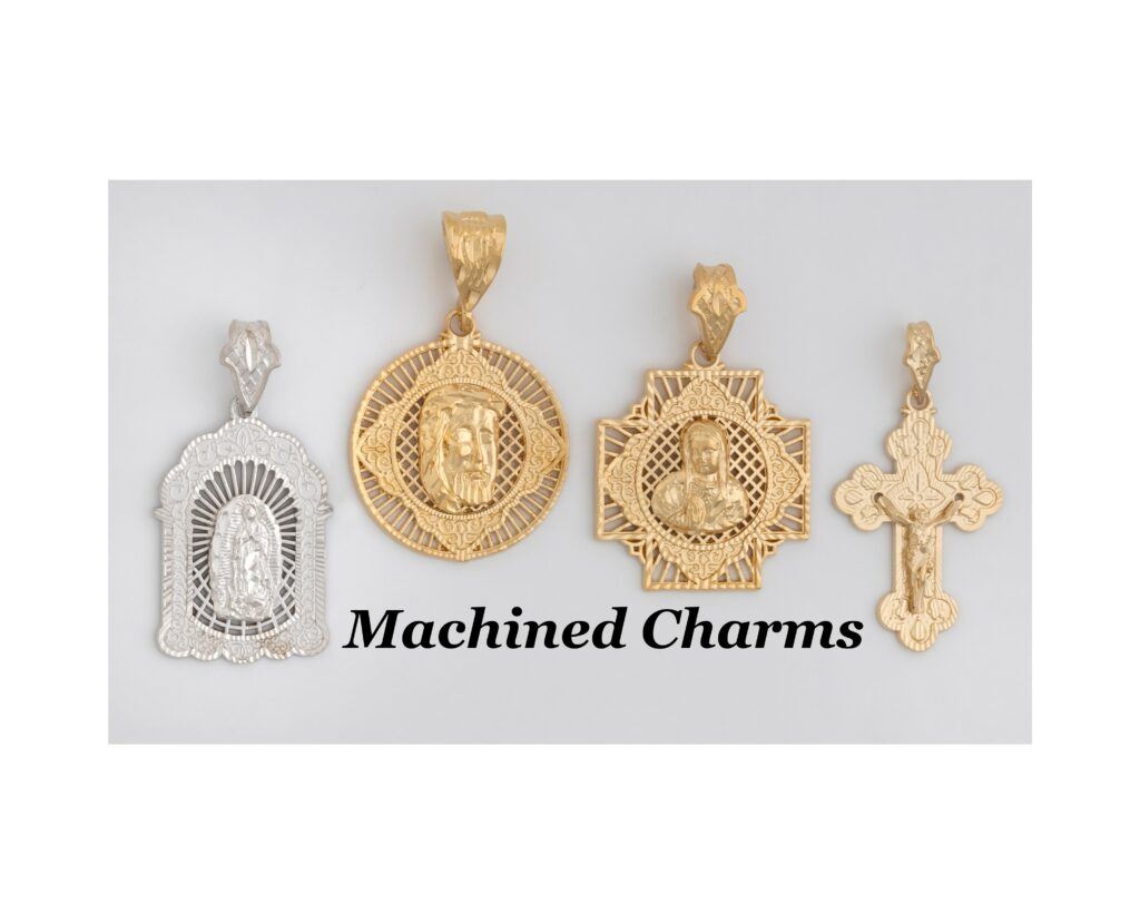 Machined Charms